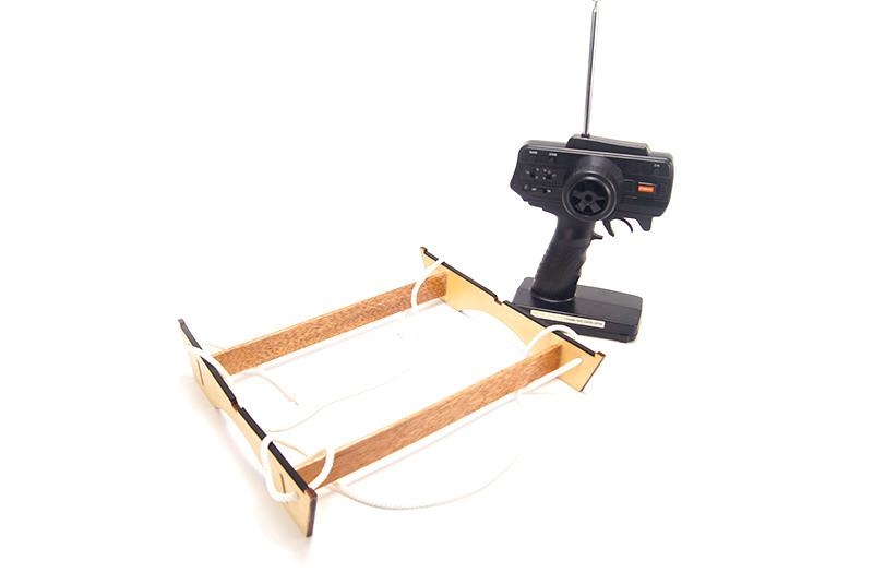 глиссер из радиоуправляемой модели